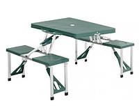 Раскладной стол со стульями в чемодане HXPT-8821-B