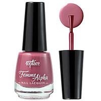 TopFace Лак для ногтей Alpha Femme PT-103 Тон 038 дымно сливовый эмаль