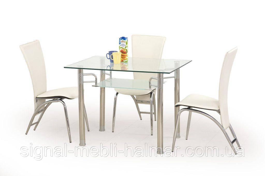 Стол стеклянный ERWIN Halmar 100*70