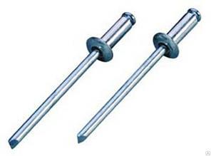 Заклепки вытяжные, алюминиевые 50 шт. 4,8 х 8 мм