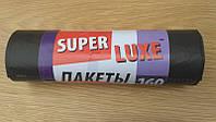 Пакеты для мусора 160л/10шт 90*110 Super Luxe  , фото 1