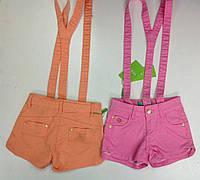 Яркие шорты для девочек