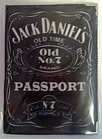 Обложка на паспорт Jack aniel`s 1454+ Хохол Украина