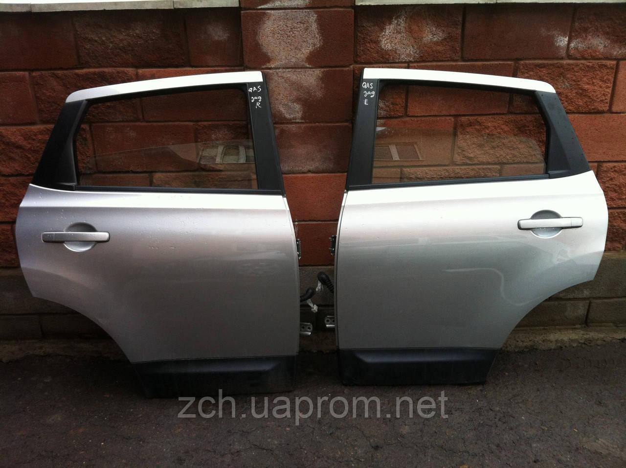Стекло двери Nissan Qashqai