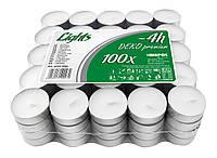 Свеча чайная (таблетка) 100 шт, BISPOL