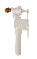 Механизм набора воды в унитаз с боковым подключением воды 1\2, с латунным наконечником