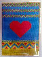 Обложка на паспорт Сердце 1316 Хохол Украина