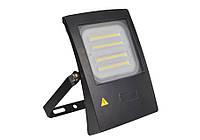 Прожектор светодиодный для освещения цеха, 4750Лм 50Вт 220В (экв.375Вт л.н) нейтр.-белый 245х180х70мм, IP65