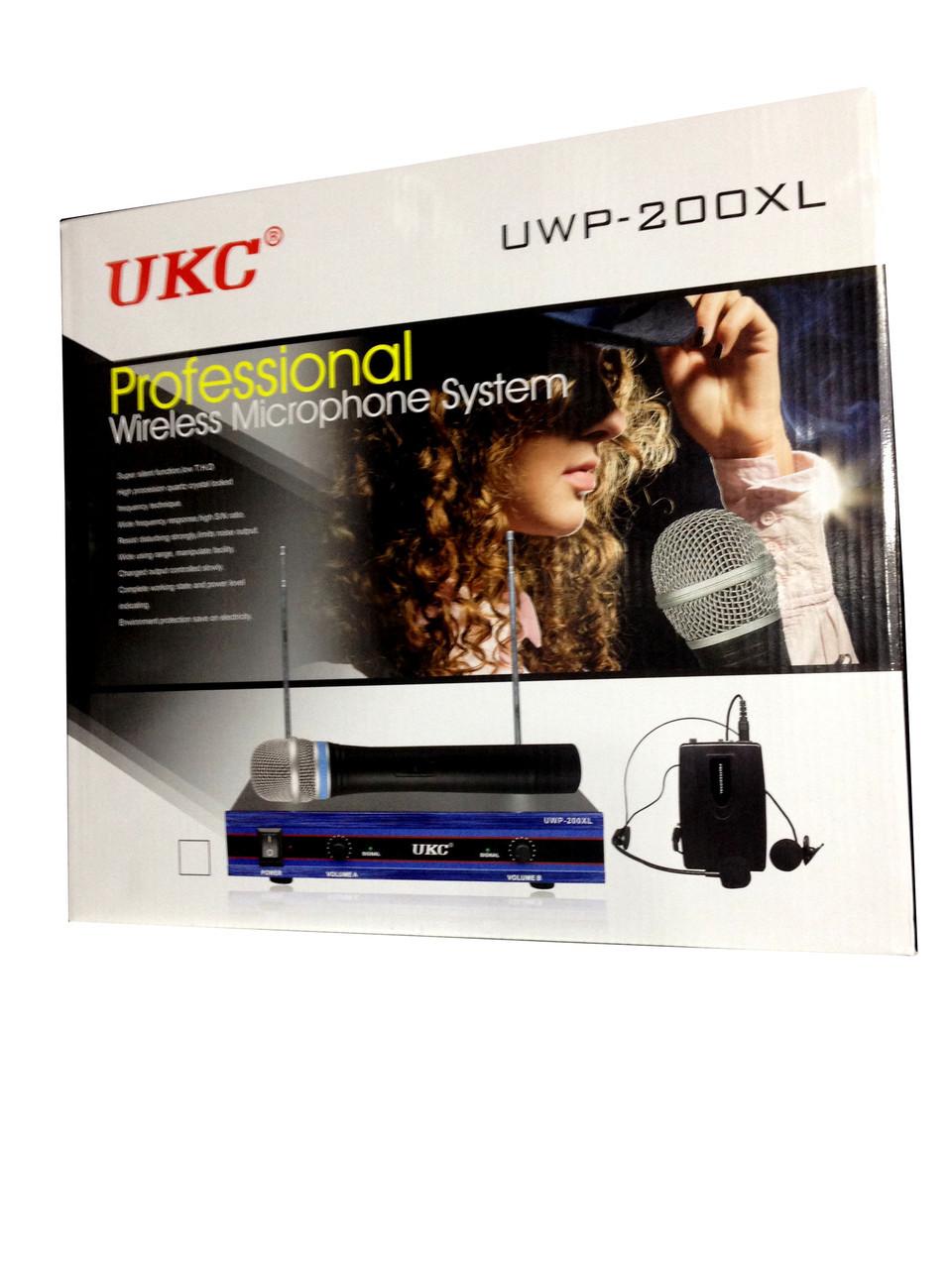Микрофон DM UWP-200 XL + ПОДАРОК: Держатель для телефонa L-301