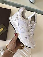 Модные женские кроссовки LOUIS VUITTON белые