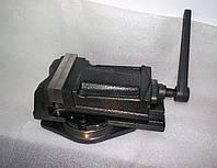 Тиски поворотные механические QH 100mm, фото 1