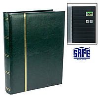 Кляссер SAFE - 64 страницы - А4 - чёрные листы - ватированная обложка, фото 1