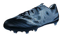 Футбольные Бутсы adidas F30 FG Leather - Core Black/Silver - B35973 кожа  (оригинал)