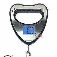 Весы кантер электронный цифровой electronic portable scale blue backlight function до 40 кг, фото 1