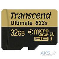 Карта памяти Transcend microSDHC 32GB UHS-I U3 MLC (R95,W60MB/s)
