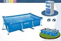 Комфортный каркасный бассейн  Intex