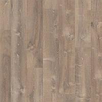 Quick-Step PUCP40086 Дуб Песчаная Буря, коричневый, виниловый пол Livyn Pulse Click Plus, фото 1