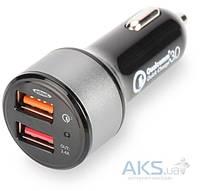 Зарядное устройство Digitus EDNET Qualcomm Quick Charge 3.0 2xUSB 5.4A (84103)