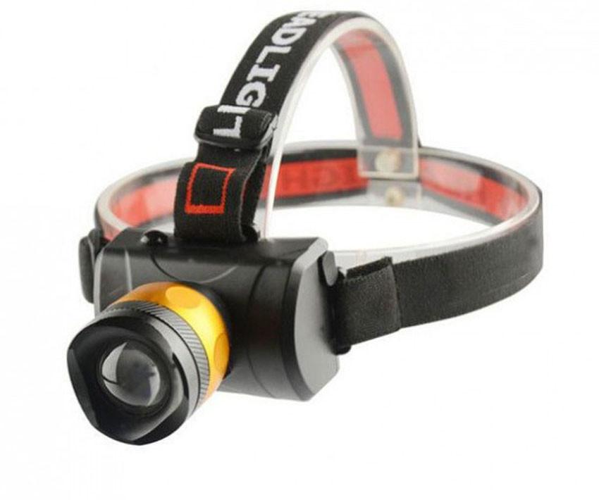 Налобный фонарик BL 6968- c T6 диодом