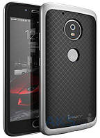Чехол iPaky Hybrid Series Motorola Moto G5 Plus Silver