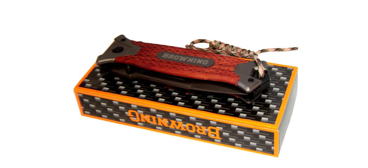 Складной нож Browning E-12(53) + ПОДАРОК: Держатель для телефонa L-301