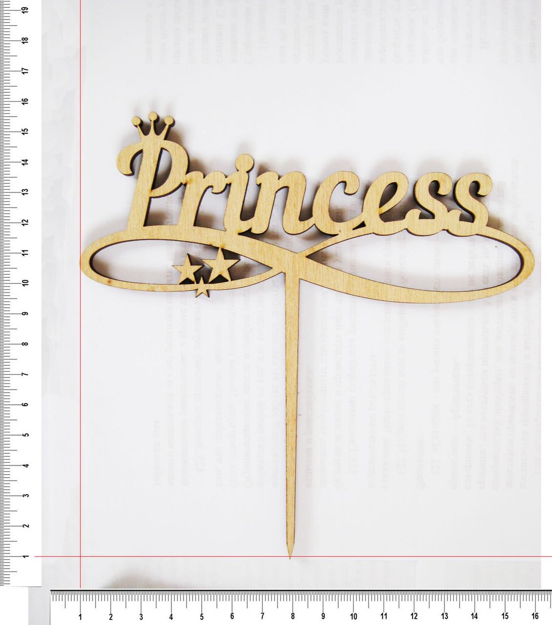 Топер Princess 14,5 х 15 cм