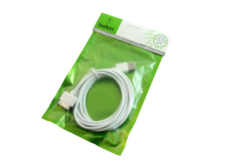 Дата кабель Belkin на iphone 4 4s 2 метра