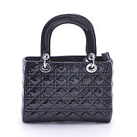 Женская сумка Dior mini стеганая черная