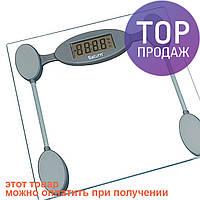 Весы напольные Saturn ST-PS1249 / Стеклянные электронные весы