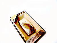 Карманная зажигалка в подарочной коробке Золото