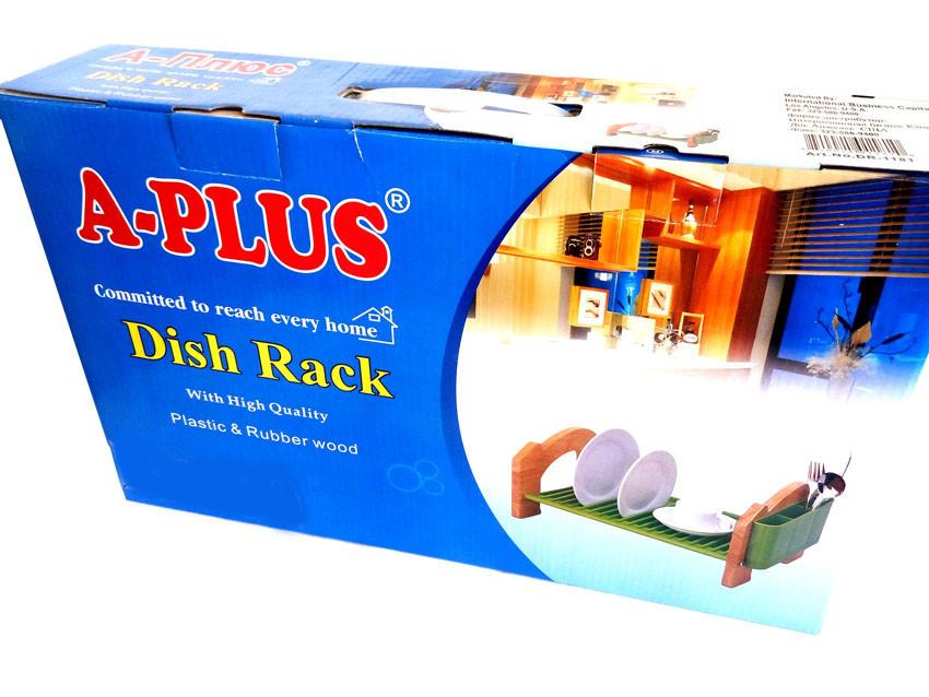 Сушилка подставка для посуды + ПОДАРОК: Держатель для телефонa L-301