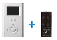 Видеодомофон Commax + панель вызова Commax (CDV-35H + DRC-4CPN2)