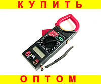Мультиметр + токоизмерительные клещи DT266FT + ПОДАРОК: Держатель для телефонa L-301