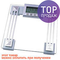 Весы напольные Saturn ST-PS1240 / Стеклянные электронные весы