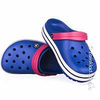 Женские кроксы Calypso синие