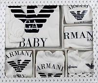 Набор на выписку Armani, для новорожденного,10 предметов
