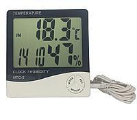 Термометр цифровой с влажностью HTC-2