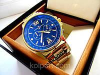 Мужские часы Ulysse Nardin (часы Улисс Нардан) 2 Цвета, КВАРЦ (Материал ремешка - метал) купить мужские часы, фото 1