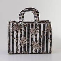 Женская сумка Dior полосы