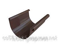 Желоб 3м- коричневый. 125/95.. Водосточные системы Альта-Профиль