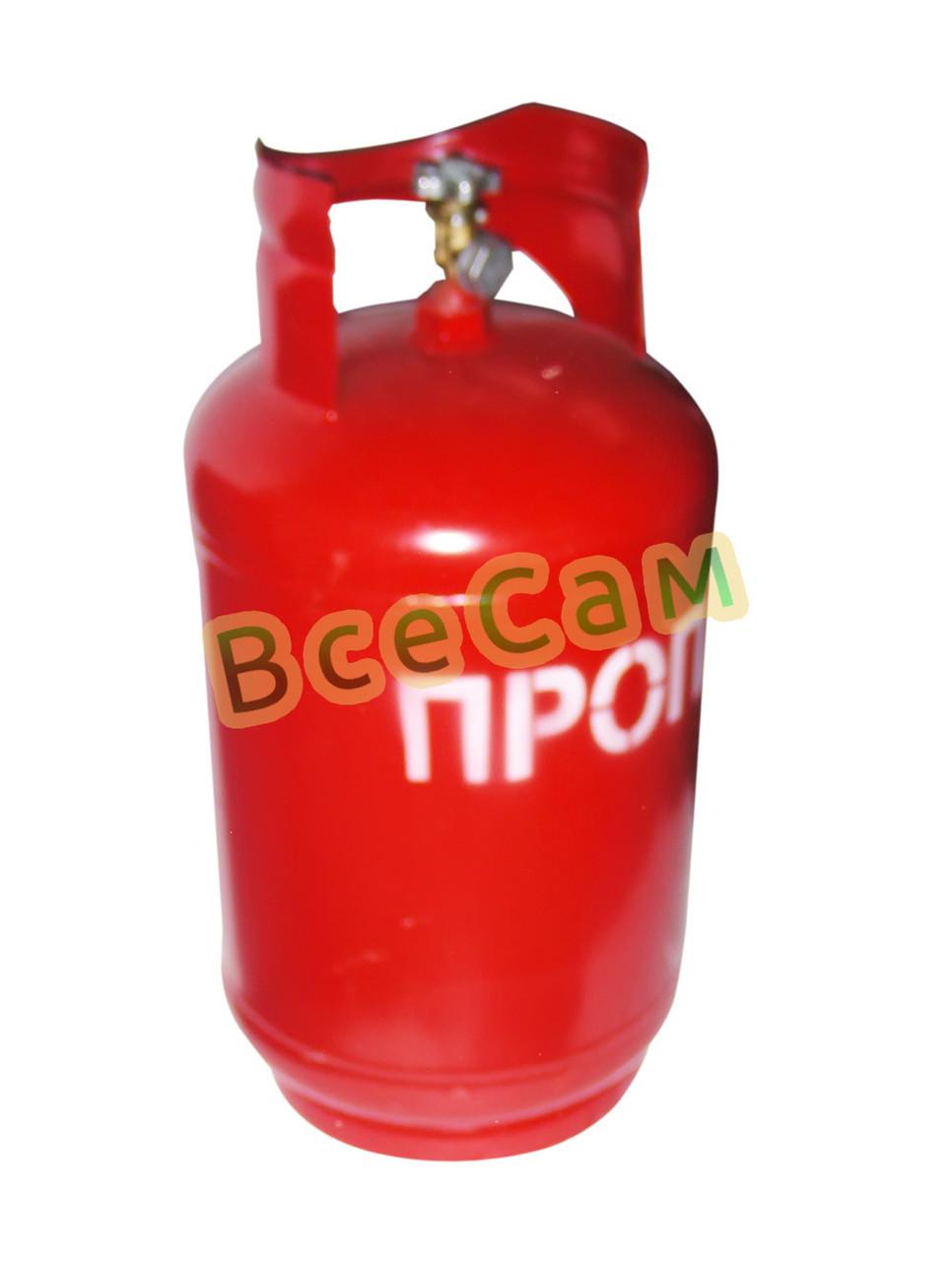 Баллон газовый 18л с вентилем ВБ-2 /Севастополь/