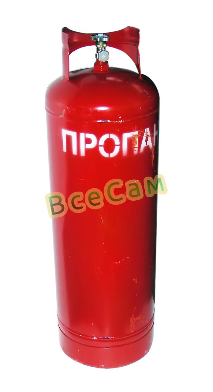 Баллон газовый 50л с вентилем ВБ-2 /Севастополь/, фото 1
