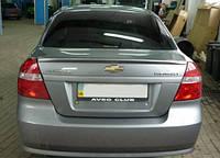 Спойлер багажника ( лип спойлер, сабля, утиный хвостик) Chevrolet Aveo T250 2005+ г.в.