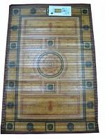 Коврик бамбуковый с рисунком, на подкладке - 60 х 90 см.