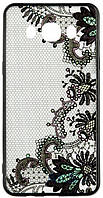 Чехол Rock Tatoo Art Case Samsung J500 Galaxy J5 Flowers