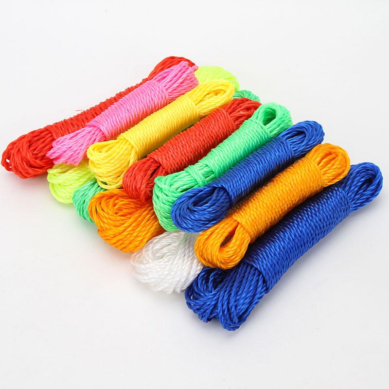 Суперпрочная бельевая веревка цветной набор /10шт в уп../прод только уп