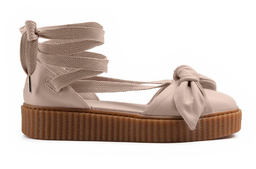 84836d165518 Оригинальные женские босоножки Puma X Fenty Rihanna Bow Creeper Sandal -  All-Original Только оригинальные