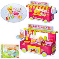 Кухня 889-65-66 автобус,39,5-21-26 см,плита,посуда,продукты,зв,св,2вид,на бат,в кор,48-34-12 см (BOC097432)