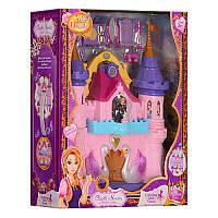 Замок SG-29002 принцесcы,38-45-13см,муз,св,фигурк2шт от 6,5см,мебель,на бат,в кор,50-43,5-15см (BOC087665)