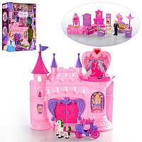 Замок SG-2991 принцессы,33-32-11см,муз,св,мебель,фигурки(вращ),на бат-кев кор-ке,39-49-13см (BOC072248)